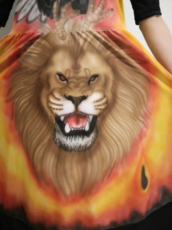 Robe Aigle Lion - Destinée Création