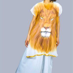 Destinée Création - Tunique Lion Blanc