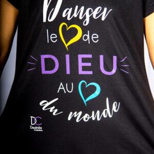 Destinée Création - Tunique Danser le Coeur